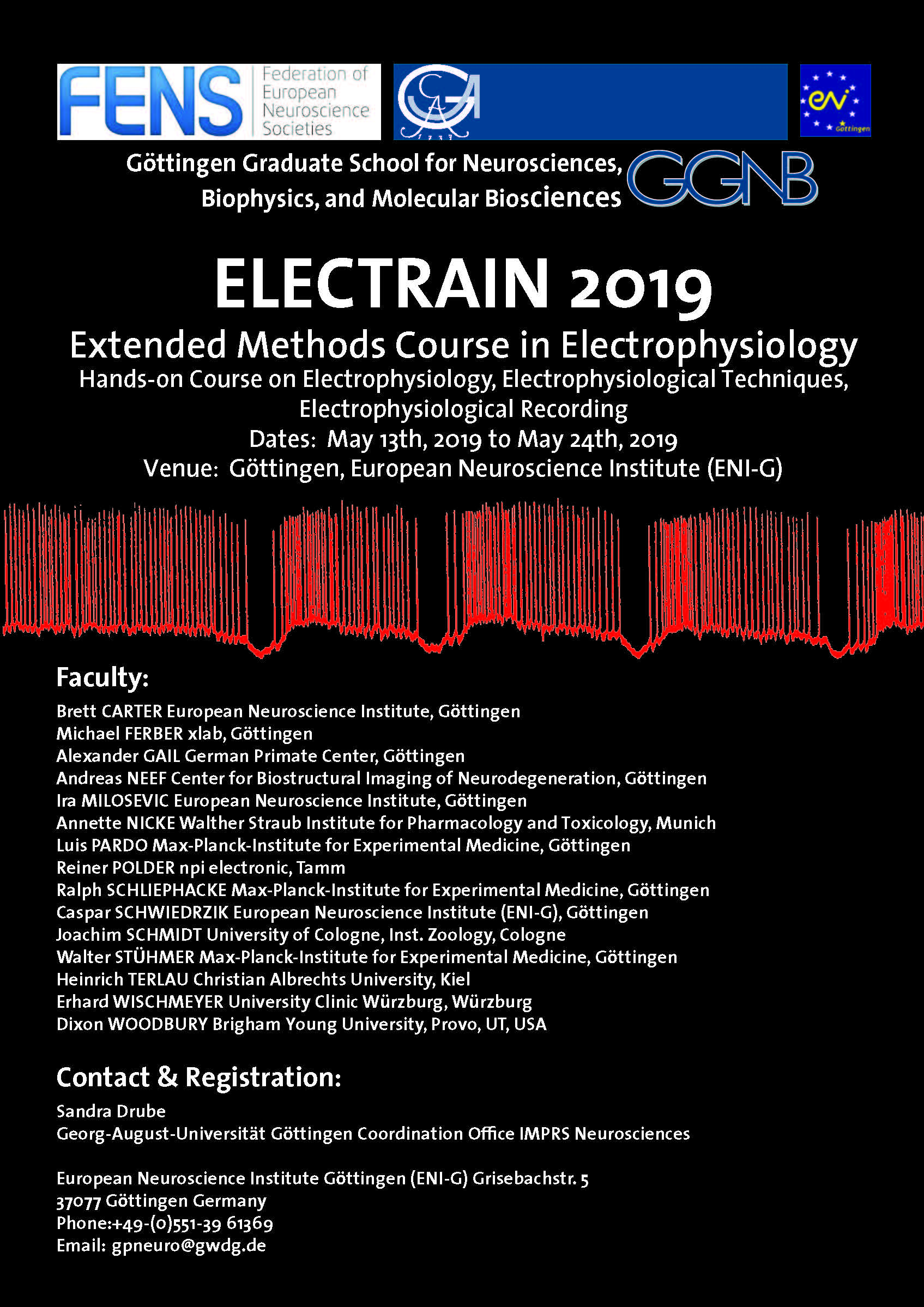 Poster ELECTRAIN 2019